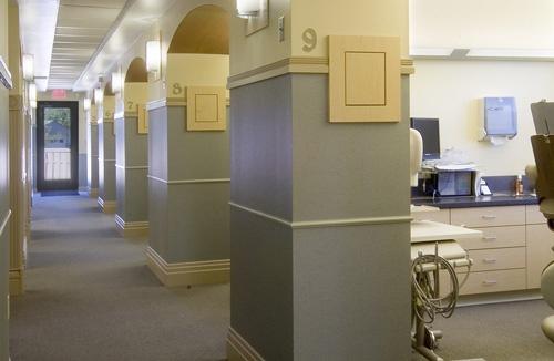 Dental Office Exam Area