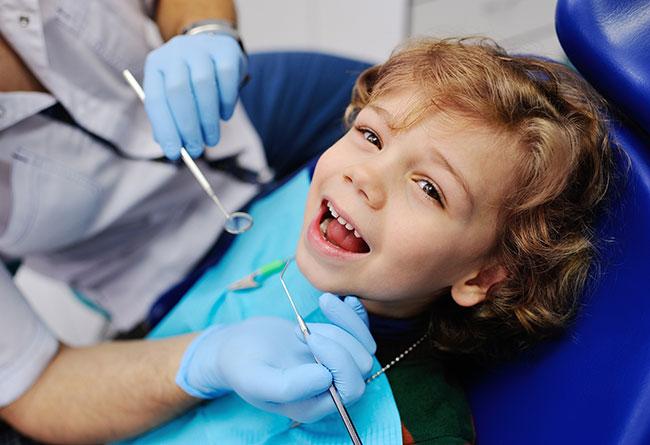 Pediatric dental patient
