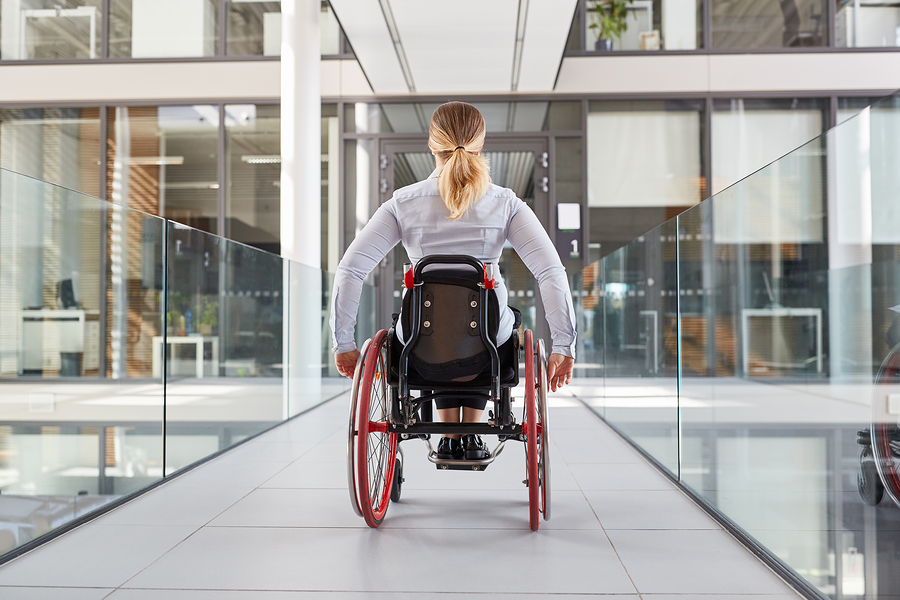 Accessible Dental Office architect, patient in Wheelchair