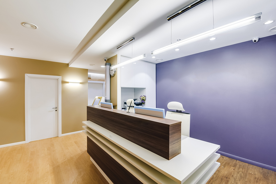 The Power of First Impressions: 7 Dental Office Reception Ideas, Dental office design that creates a great first impression.