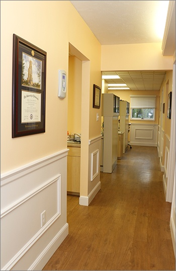 Dental Office Hallway