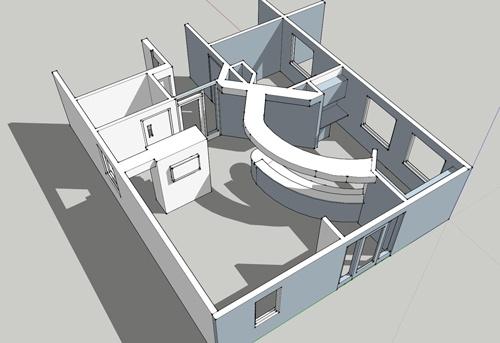 Sample Dental office Design 3D Render